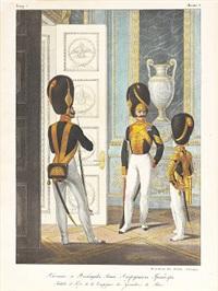 soldats et fifre de la compagnie des grenadiers du palais by pavel alekseevich aleksandrov