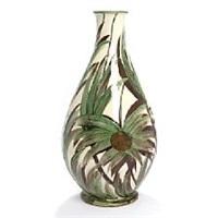 earthenware floor vase by herman august kähler