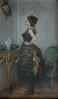 fasching by auguste toulmouche
