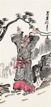 罗汉 (lohan) by zhou jingxin