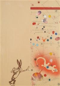 bugs bunny by alighiero boetti