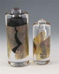 zwei flakons mit stöpsel by mieke groot