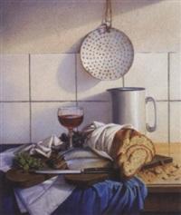 küchenstillleben by siegfried zademack