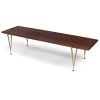 coffee table/bench by hugh acton