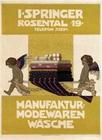 i. springer manufaktur modewaren wäsche by fritz rehm