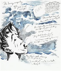 the ivory soap boy by raymond pettibon