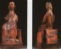 thronende madonna, reliquienschrein by german school (13)