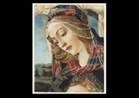 mother and child of magnificat and untitled 2 works from botticellis works and his era by sandro botticelli