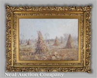 wheat after gleaning by paul mersereau