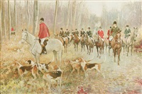 hunt scene by kenneth wynn