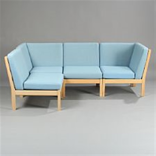 Ge 280 Sofa By Hans J Wegner On Artnet