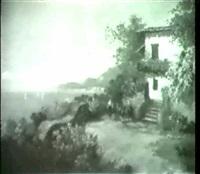 wassertragerin auf capri. by a. arnegger