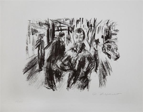 Straßenszene by Robert Liebknecht on artnet