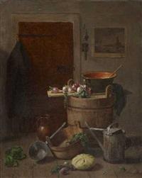 küchenstillleben by josef mansfeld