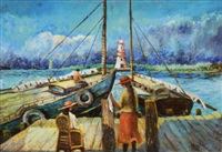a holiday on the docks by william arnold