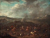 the battle of oudenarde by adam frans van der meulen
