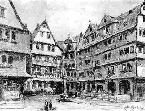 roseneck in alt frankfurt by carl dörrbecker