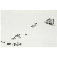 garbage drawing #18 by mike kelley