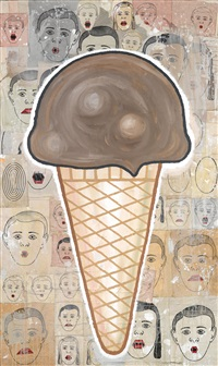 cone by donald baechler