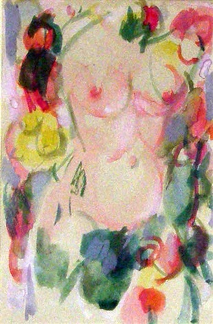 female torso by john duncan fergusson