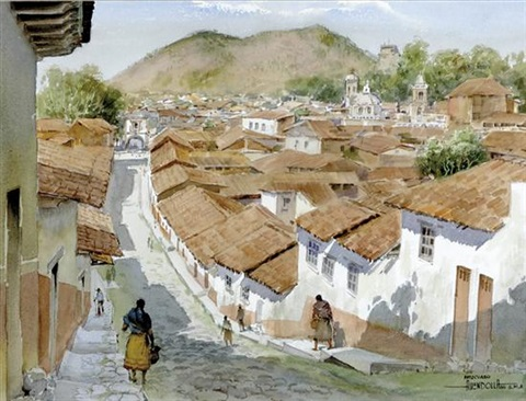 patzcuaro mexico by luis amendolla