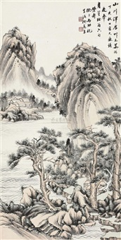 草木华滋 (landscape) by xu songnian