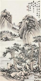 草木华滋 (landscape) by xu songnian