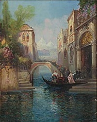 canal grande, venedig by p. gillini