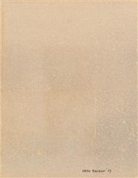 impronta sughero (achromie) by piero manzoni