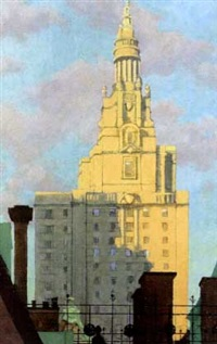 san remo tower, n.y. 1977 by robert f. morgan