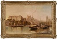 Blois on the Loire River, France