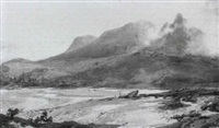 skye from the sands of traigh by hubert herbert coutts