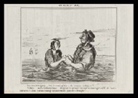 various satire 28 works from le charivari by honoré daumier
