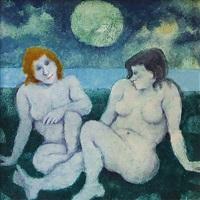 donne al tramonto by remo squillantini