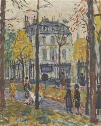 französischer park im herbst by alexandre rochat