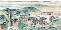 林泉高致 (landscape) by jiang hong
