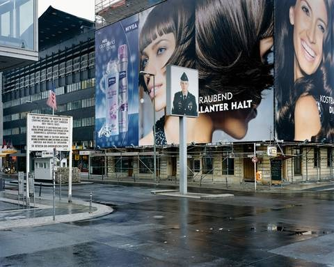 checkpoint charlie berlin 2008 by mitch epstein