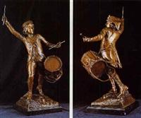 soldado con tambor by leon fagel