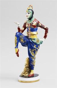 koreanischer tanz - anita berber by constantin holzer-defanti