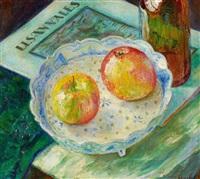 stillleben mit äpfeln by nico baak