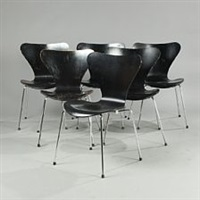 seven chair by arne jacobsen