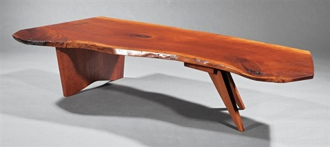 George Nakashima Cherrywood Coffee Table By George Nakashima