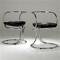 pair of chairs by vladimir tatlin