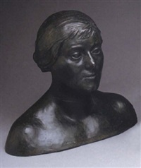 bust of a woman by william mcmillan