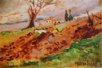 campagna senese by ulvi liegi (luigi levi)