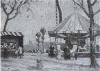 festwiese by cimo von uechtritz-steinkirch