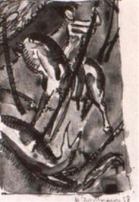 st. georg (2x) by max zachmann