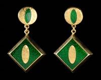 earrings by j. kimmel & co.