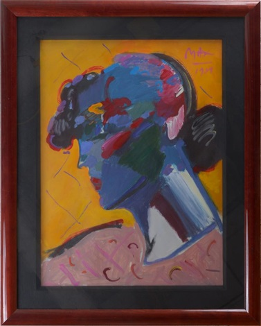 palm beach lady by peter max