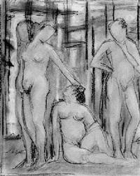 weibliche und männliche aktstudien by otto wolfgang spies